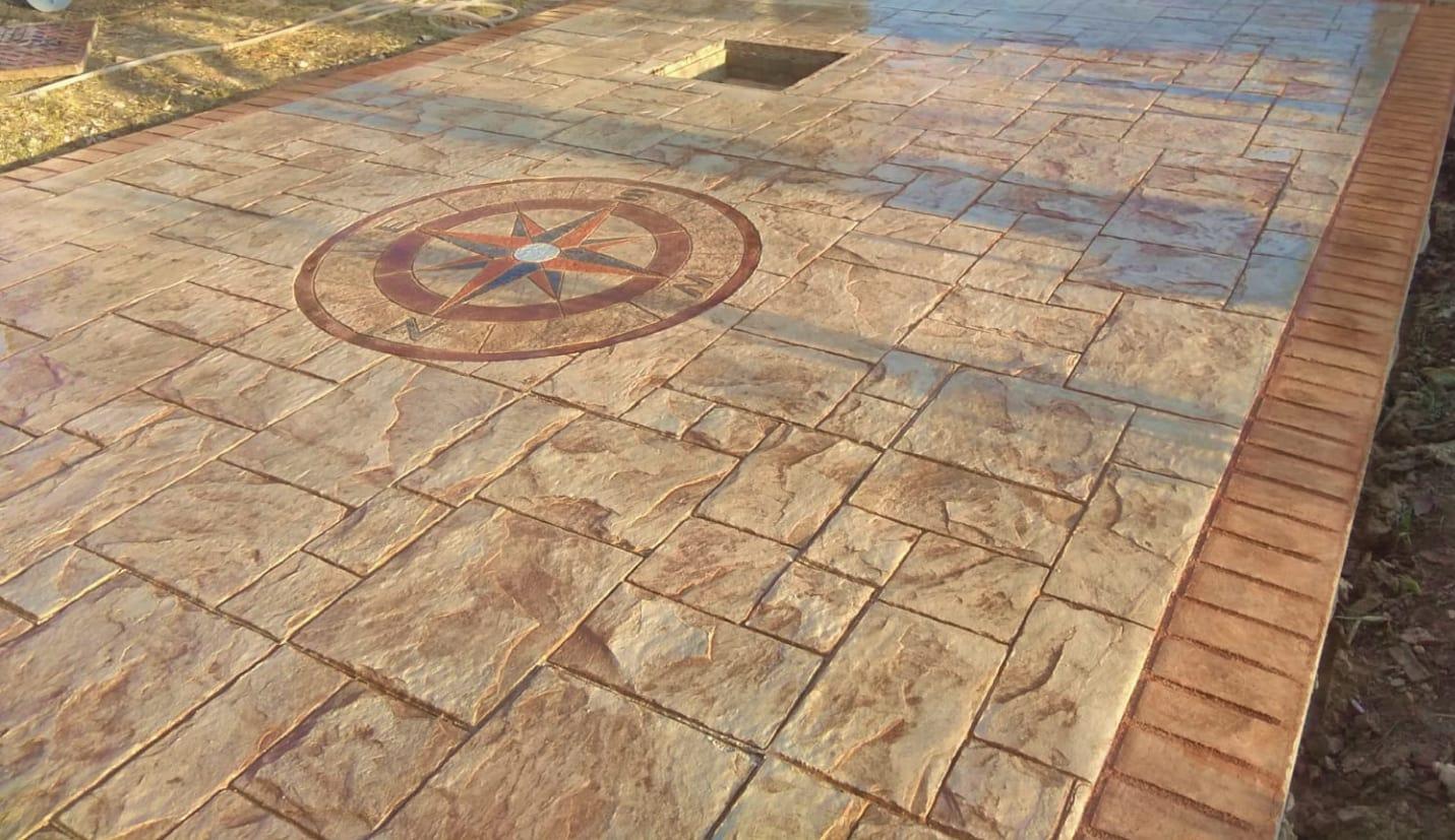 Pavimento In Cemento Prezzi pavimenti in cemento stampato agrigento